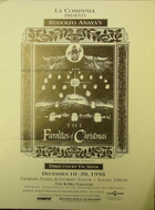 Flyer for The Farolitos of Christmas by Rudulfo Anaya.