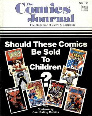 The Comics Journal, no. 88