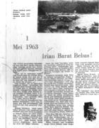 1 Mei 1963: Irian Barat Bebas!
