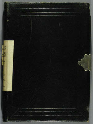 Bangs Family Papers, 1839-1865