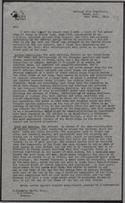 Copy of Letter from F. C. Mason to W. Kingsley Smith re: Report on Labour Camp at Gatun, June 30, 1943