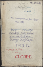 Air Survey of Canal Zone Egypt 1930-1936