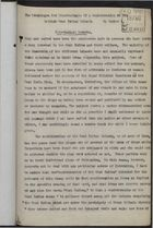 Essay re: Advantages and Disadvantages of a Confederation of the British West Indian Islands, circa 1917