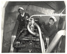 Engine Room in a Dirigible, ca. 1933