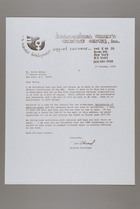 Letter from Mildred Persinger to Bella Abzug, October 27, 1978