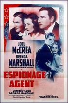 Espionage Agent (1939): Shooting script