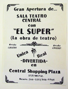 Flyer for El Super by Ivan Mariano Acosta.