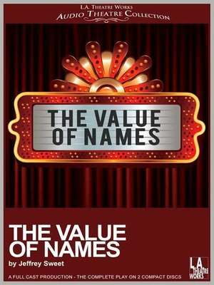 The Value of Names | Alexander Street, a ProQuest Company