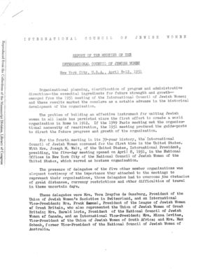 2nd Triennial New York City, April 8-12, 1951