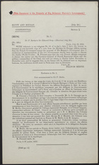 Letter from Sir F. Bertie to Sir Edward Grey, July 29, 1912