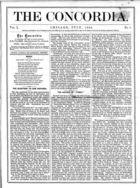 The Concordia, Vol. 1, no. 7, July, 1866