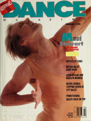Dance Magazine, Vol. 72, no. 2, February, 1998