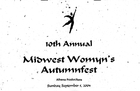 10th Annual Midwest Womyn's Autumnfest