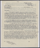 Copy of Letter from John Corbett to David Heron re: Rationing of Chocolate and Sugar Confectionery, September 12, 1941