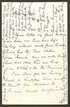 Letter from Rex Anderson to Edith Thompson, August 14