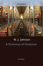 A Dictionary Of Hinduism (First Edition)