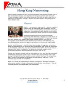 Hong Kong Networking