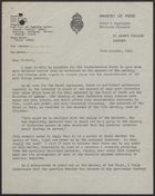 Letter from Frank Hollins to John T. Corbett re: Concentration of Soft Drinks Industry, October 10, 1942