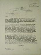 Memorandum from Jay J. Morrow to Hon. M. de Simonin re: Termination of Non-U.S. Citizen Employee, August 20, 1921