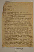 Memo re: Thuringian/Saxon and Czech Border Police Organizations, May 19, 1947