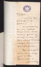 Correspondence re: William Gildea, August -  September, 1897