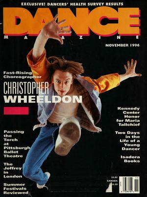 Dance Magazine, Vol. 70, no. 11, November, 1996