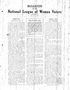 Bulletin, No. 3, December 1927