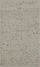 Letter from Kate MacArthur Leslie, March 4, 1845