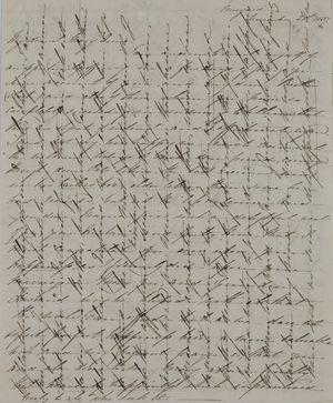 Letter from Anna MacArthur Wickham to Mary Anne Leslie Davidson, December 21, 1837