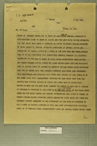 Memo from Truscott to Crittenberger, May 5, 1945