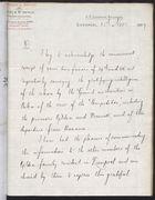 Letter from Charles W. Arthur to T. H. Sanderson, November 25, 1897