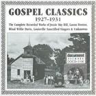 Gospel Classics Vol. 1 (1927-1931)