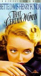 That Certain Woman (1937): Shooting script