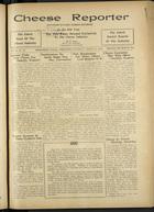 Cheese Reporter, Vol. 60, no. 28, Saturday, March 14, 1936