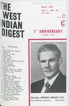 West Indian Digest, May 1972 Vol. 1, No. 10, The West Indian Digest, May 1972 Vol. 1, No. 10
