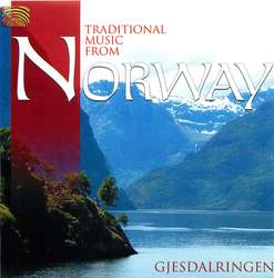 Traditional music from Norway Album Art