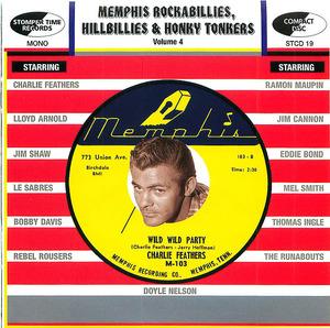Memphis Rockabillies, Hillbillies and Honky Tonkers, vol. 4