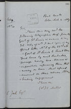 Copy of Letter from C. Mallet to L. Joel re: Response from Government of St. Lucia, March 2, 1889