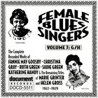 Female Blues Singers Vol. 7 G/H (1922-1929)