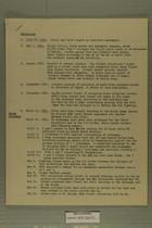 Chronology July 20, 1949 - April 1956