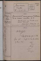 Correspondence Cover Sheet re: Commercial Arrangement between B.W. Indies and U.S., June 20, 1892