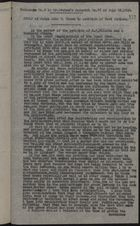 Extracted from Panama Star and Herald, June 29, 1920 re: Letter from J. W. Hanan, U. S. District Judge