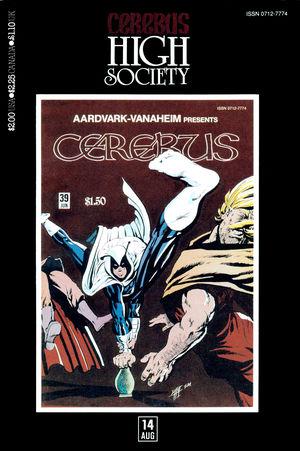 Cerebus: High Society, no. 14