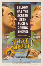 That Night (1957): Continuity script