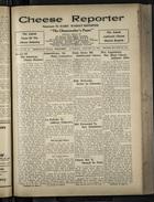 Cheese Reporter, Vol. 55, no. 21, Saturday, January 31, 1931