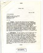 Memo from Armin H. Meyer to Theodore L. Eliot, Jr. re: Notes on Iran, Iraq, India, and Israel, July 25, 1967
