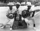 Calypso Band Members, c.1965 (b/w photo)
