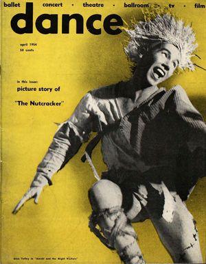 Dance Magazine, Vol. 28, no. 4, April, 1954