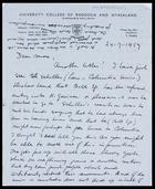 Letter from Jaap Van Velsen to MG, 24 July 1959