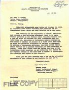 Copy of Letter from Murray Stein to Constituent re: Pollution of the Susquehanna River, October 28, 1959